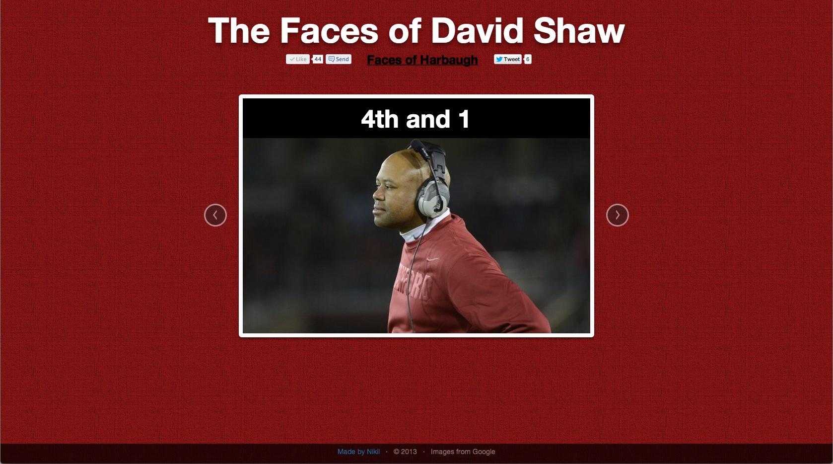 Faces of Shaw: 4th and 1