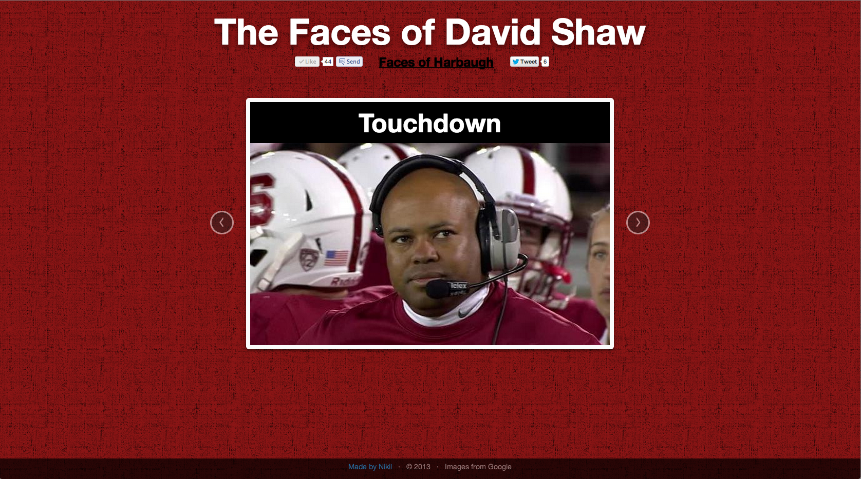 Faces of Shaw: Touchdown