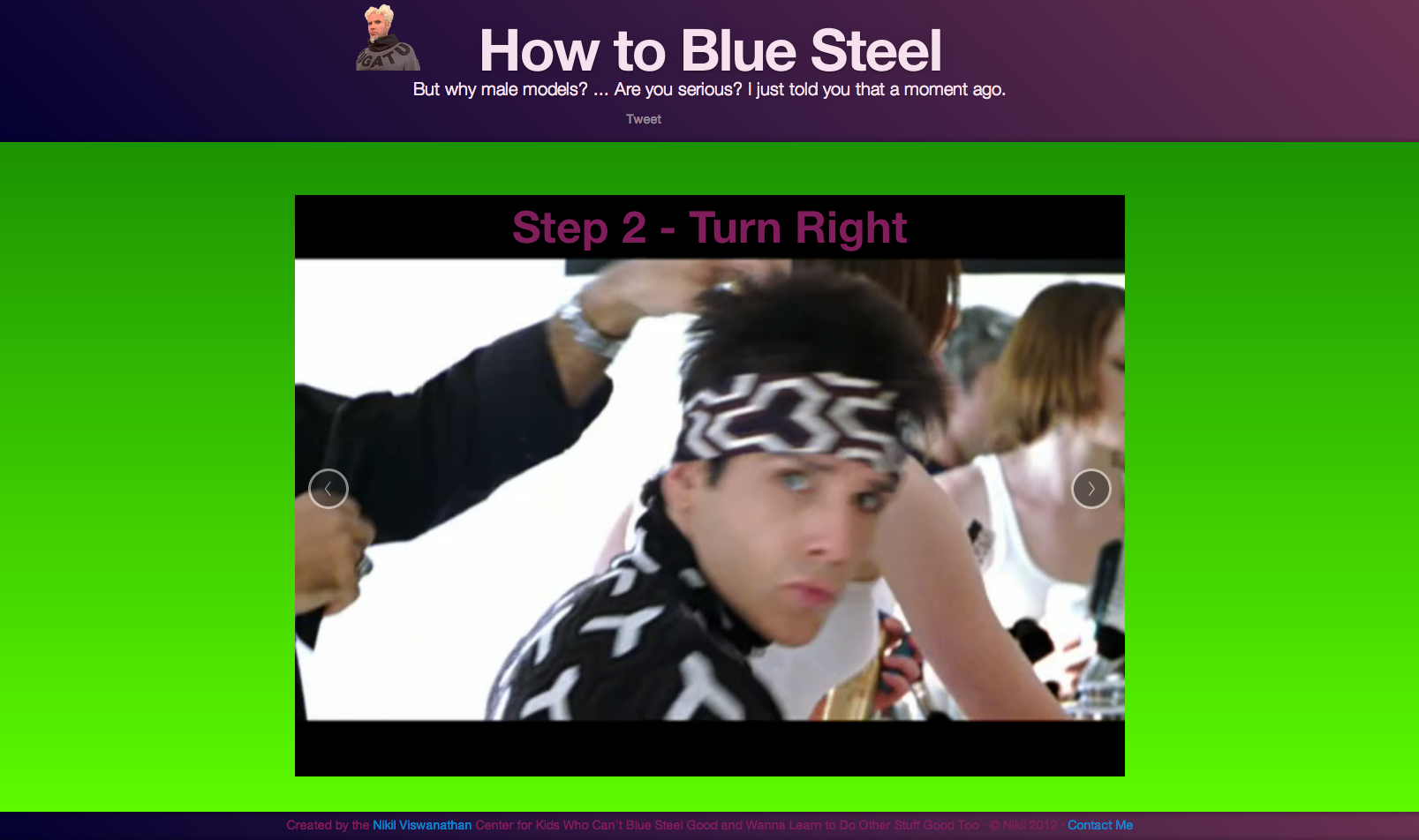 How To Blue Steel